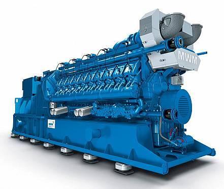 Gasmotor MWM Deutz TCG2020 V16