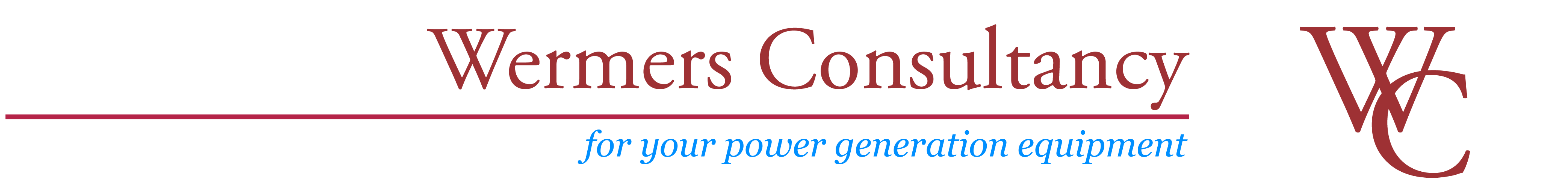 Wermers Consultancy NL - For Your Power Generation Equipment